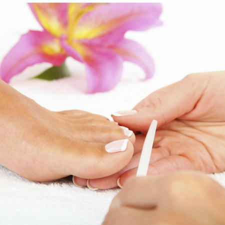 Pedicure with Gel
